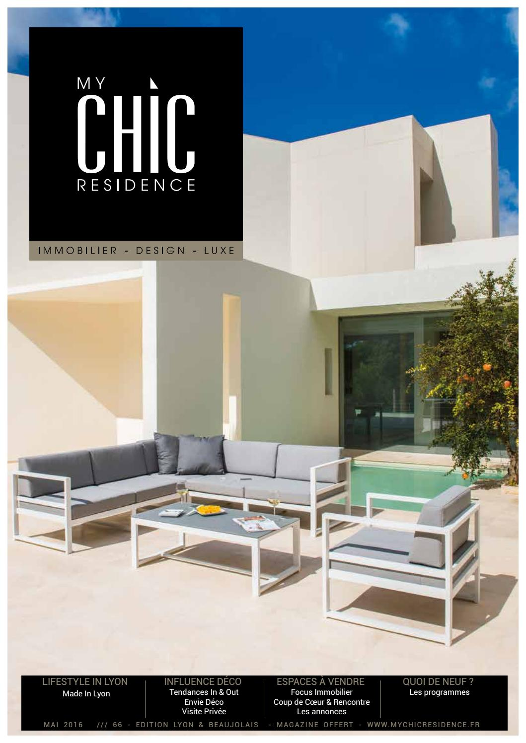 My Chic Residence 66 Mai 2016 By My Chic Residence Issuu