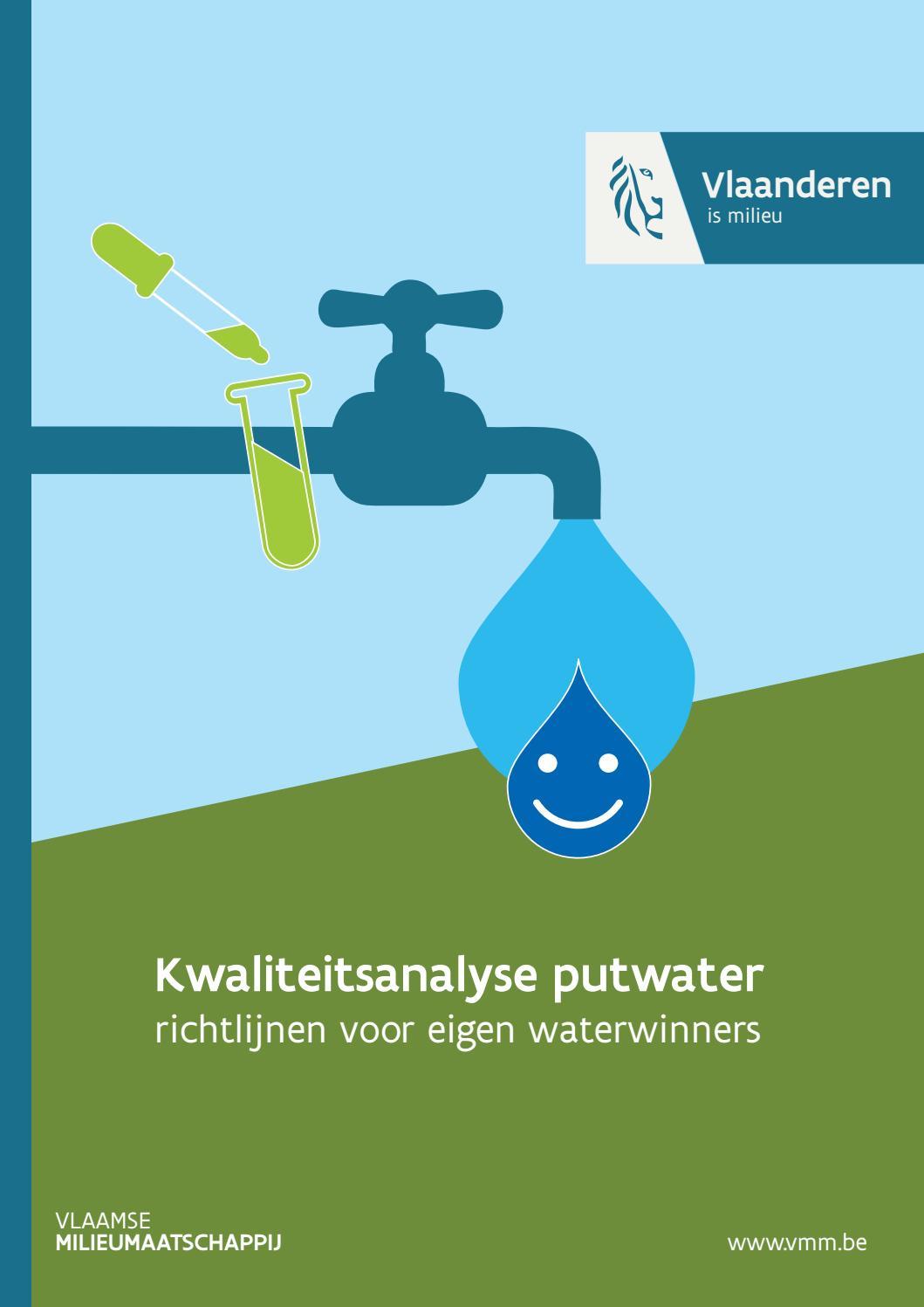 Putwater laten testen