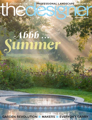The Designer – Summer 2016 by Association of Professional