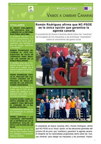 65e831de285f Boletín XXIII junio 2016 by Nueva Canarias - issuu