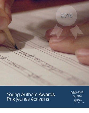 03936d0d7c7a4e Young Authors 2016 Compilation Book by  OECTA - issuu