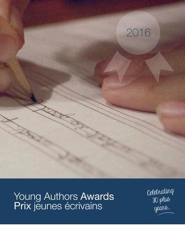 Young Authors Awards Prix jeunes ĂŠcrivains