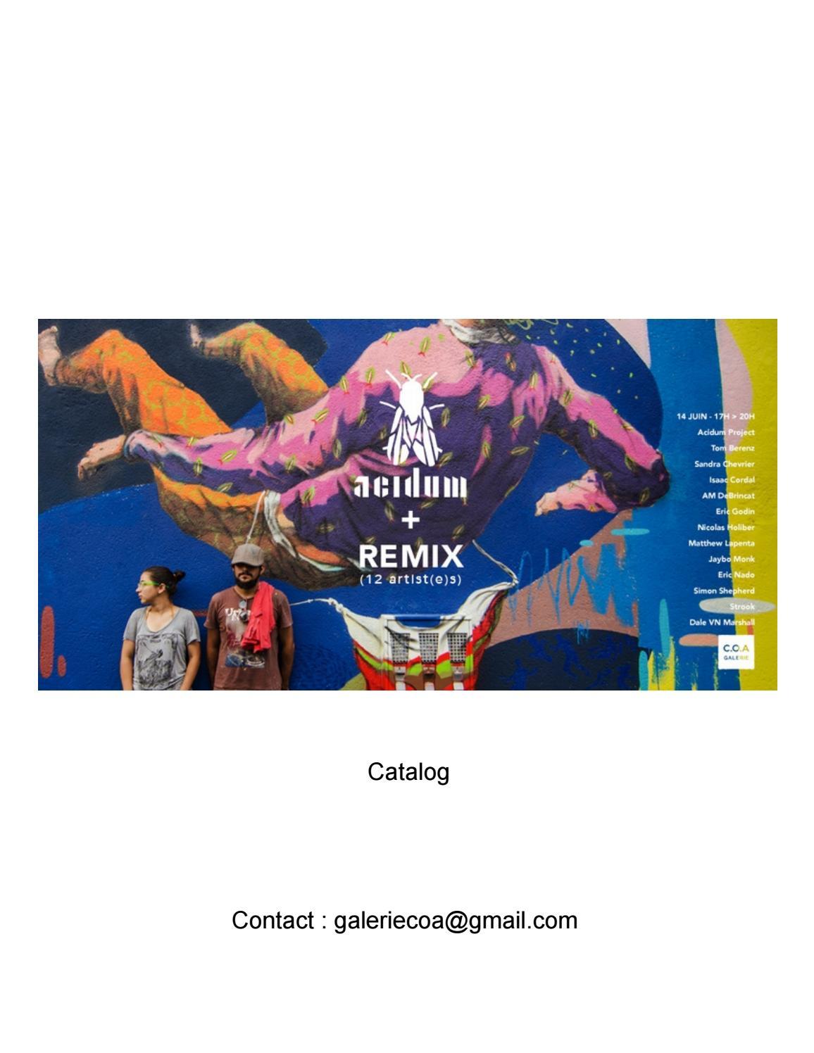promo code 8b4cd 48de2 Acidum Project + REMIX