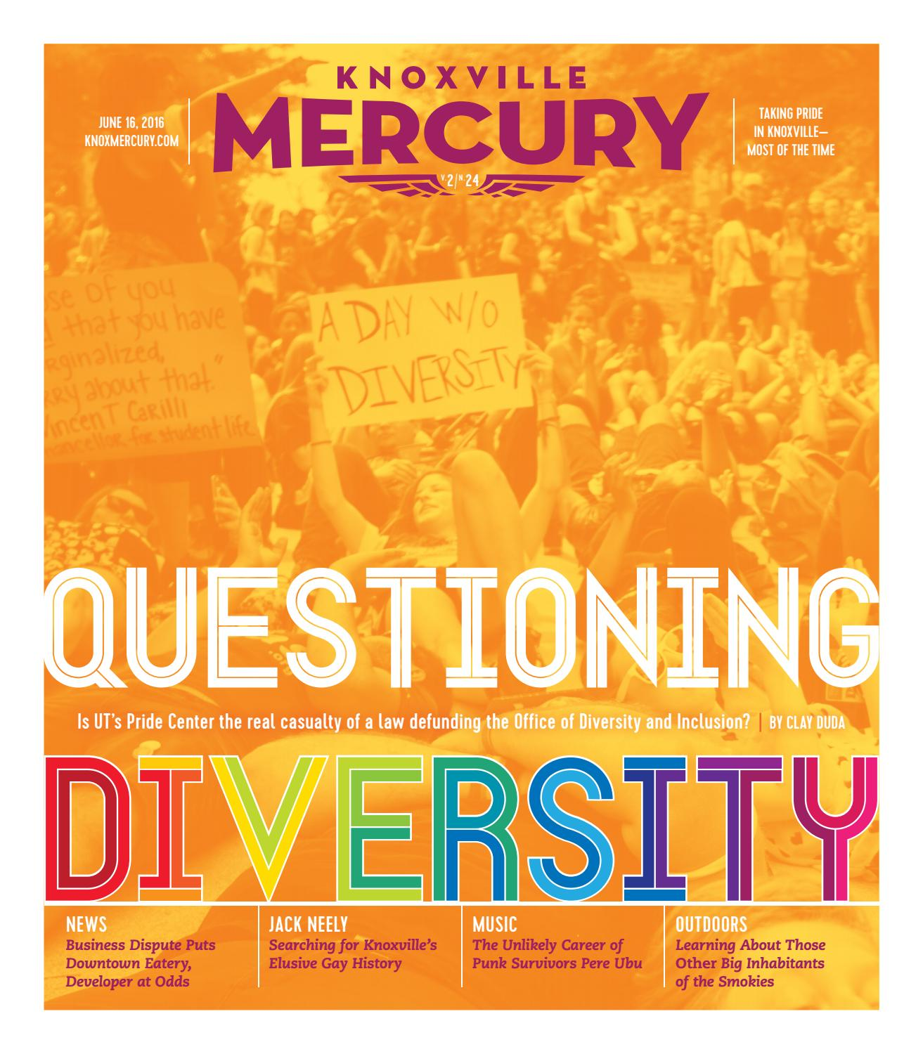 Vol  2, Issue 24 - June 16, 2016 by Knoxville Mercury - issuu