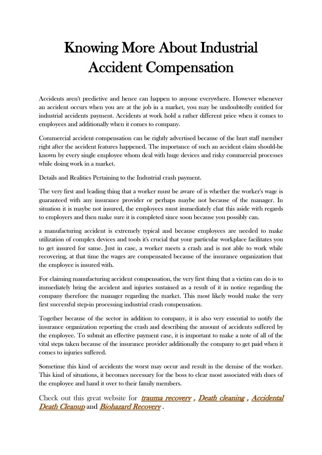 Accidental death cleanup by Abdur - issuu