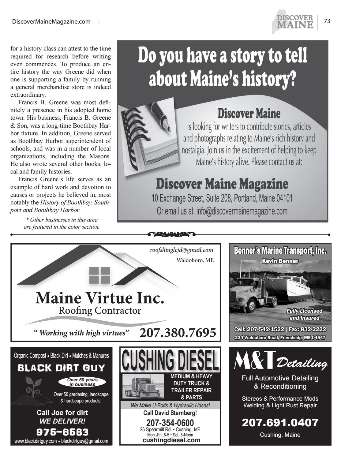 Midcoast 2016 By Discover Maine Magazine Issuu