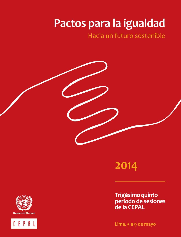 Pactos para la igualdad: Hacia un futuro sostenible | Digital ...