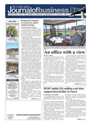 Tri Cities Area Journal Of Business