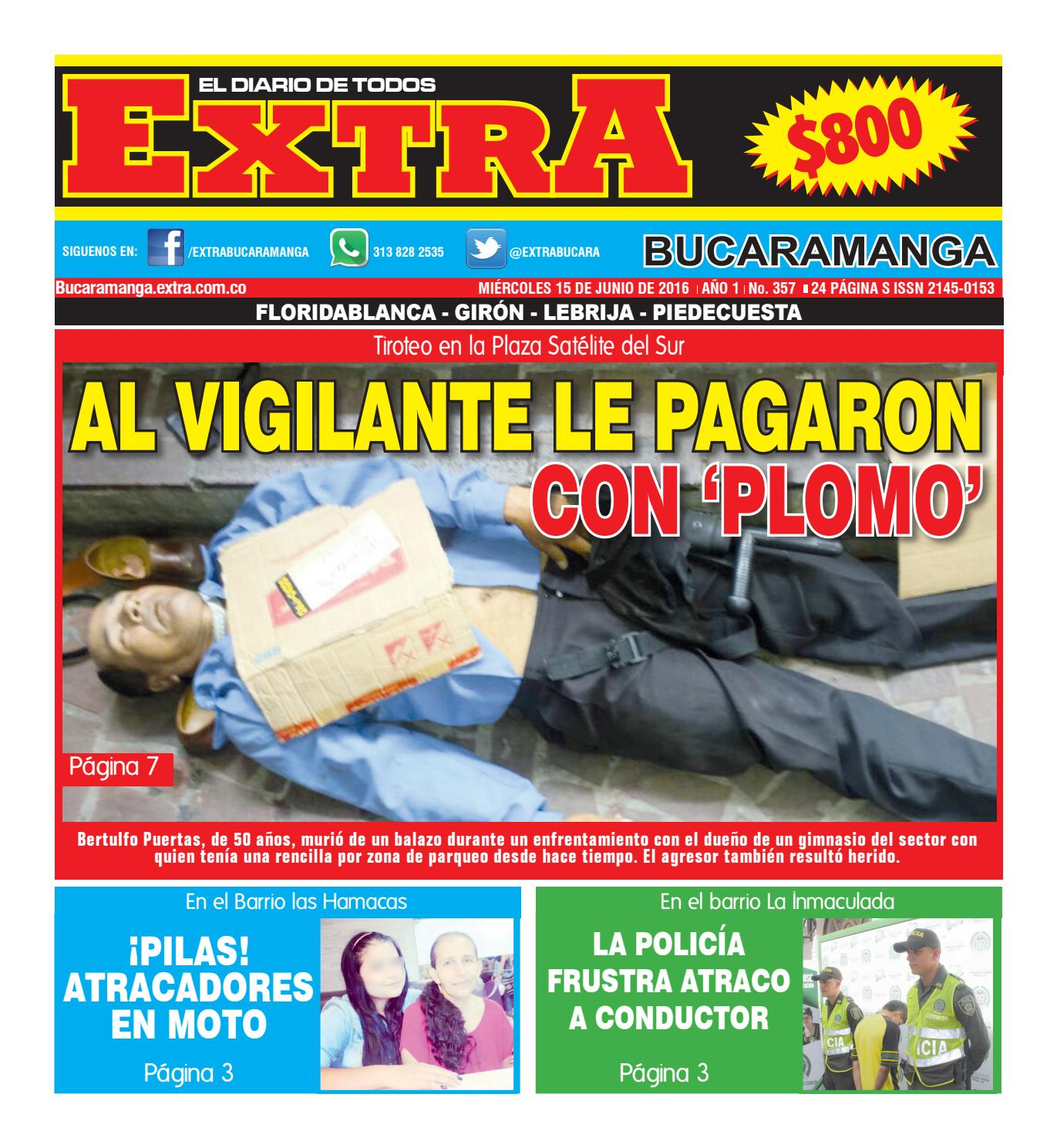 Extra Bucaramanga Edici N 357 15 De Junio De 2016 By Extra  # Muebles Silvia Bucaramanga
