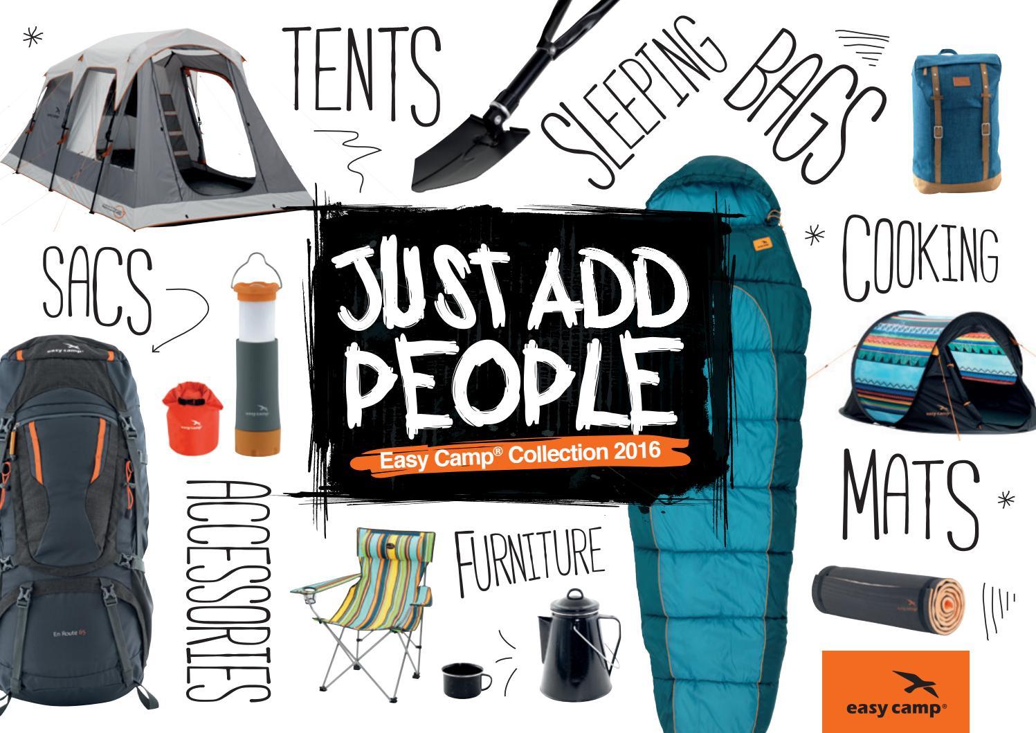Easycamp Brooklands 2 Person Berth Inner Tent storage Optional space bedroom