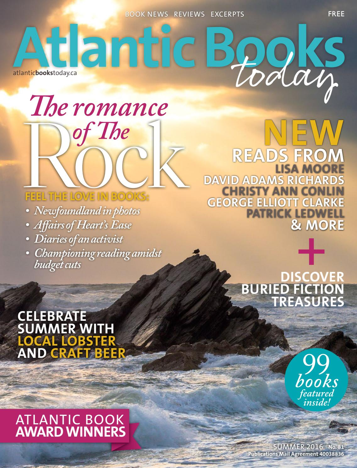 Atlantic Books Today Issue 81  Summer 2016 By Atlantic Books Today  Issuu