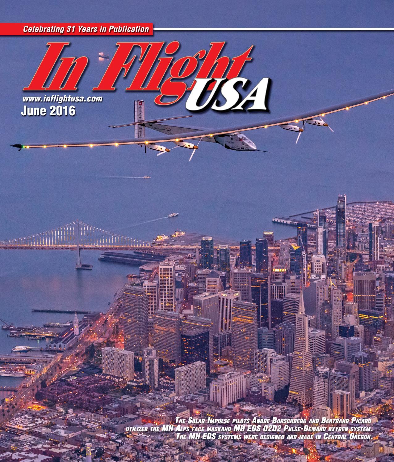 In Flight USA June 2016 by Anne Dobbins - issuu