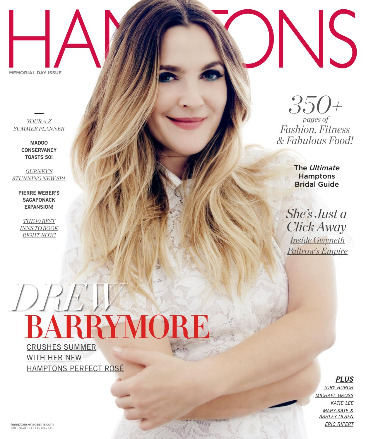 d18dba2adee57b Hamptons - 2016 - Issue 1 - Memorial Day - Drew Barrymore by MODERN LUXURY  - issuu
