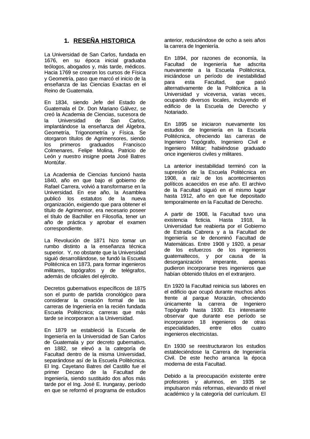 Catalogo ingenieria by Biblioteca Faculta de Ingeniería USAC - issuu
