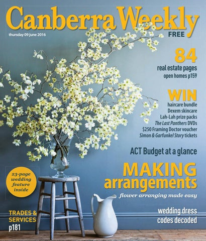 09 June 2016 by Canberra Weekly Magazine - issuu Gl Vase Hire Sydney on