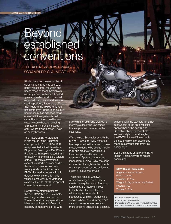 Bmw Evolution Magazine Issue 26 By Allardice Graphic Arts Issuu