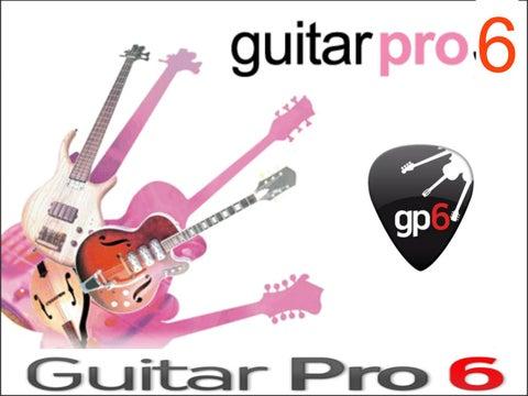 Keygen De Guitar Pro 6
