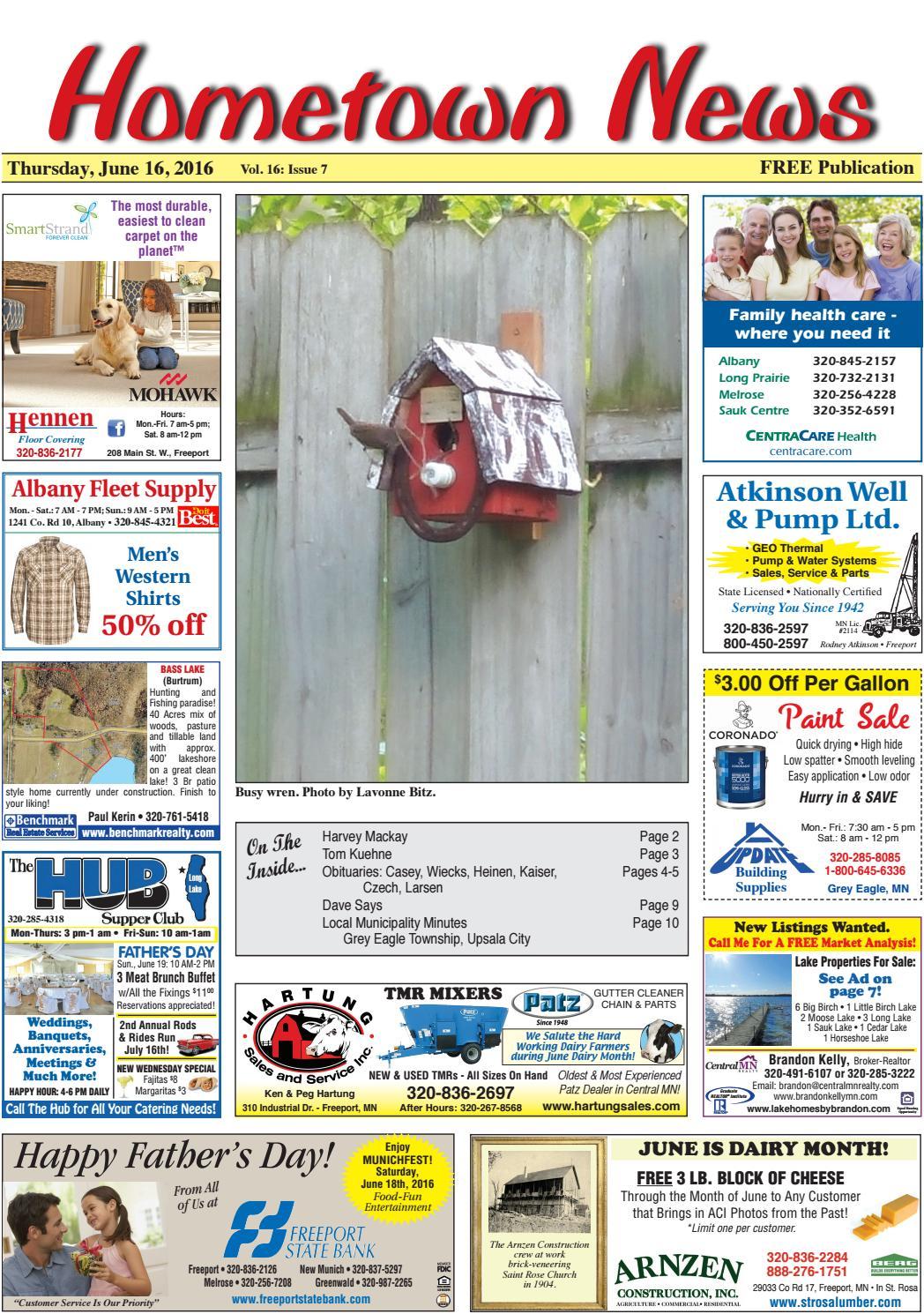 hometown news june 16 2016 by hometown news issuu
