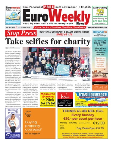 ba26c919f903 Euro Weekly News - Costa del Sol 16 - 22 June 2016 Issue 1615 by ...