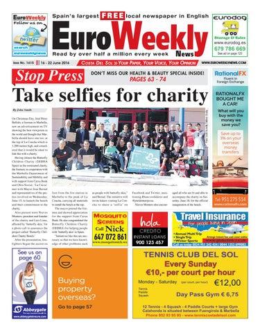 euro weekly news costa del sol 16 22 june 2016 issue 1615 by rh issuu com