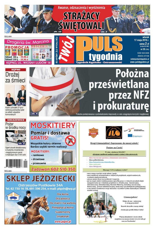 Twój Puls Tygodnia Nr 701 17 Maja 2016 R By Puls