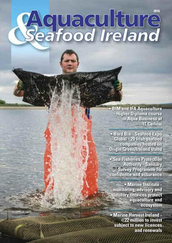 Aquaculture & seafood ireland 2016 by Inshore Ireland Publishing - issuu