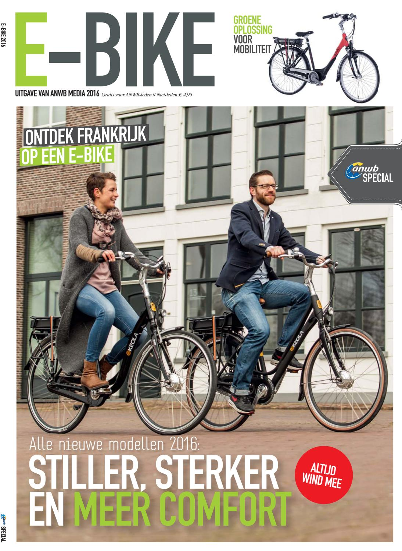 e bike 2016 een special van anwb media by jan kruithof. Black Bedroom Furniture Sets. Home Design Ideas