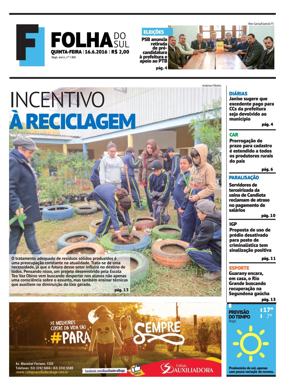 Jornal Folha do Sul, 17 de junho de 2016 by Folha do Sul Gaúcho - issuu 61efd1c619