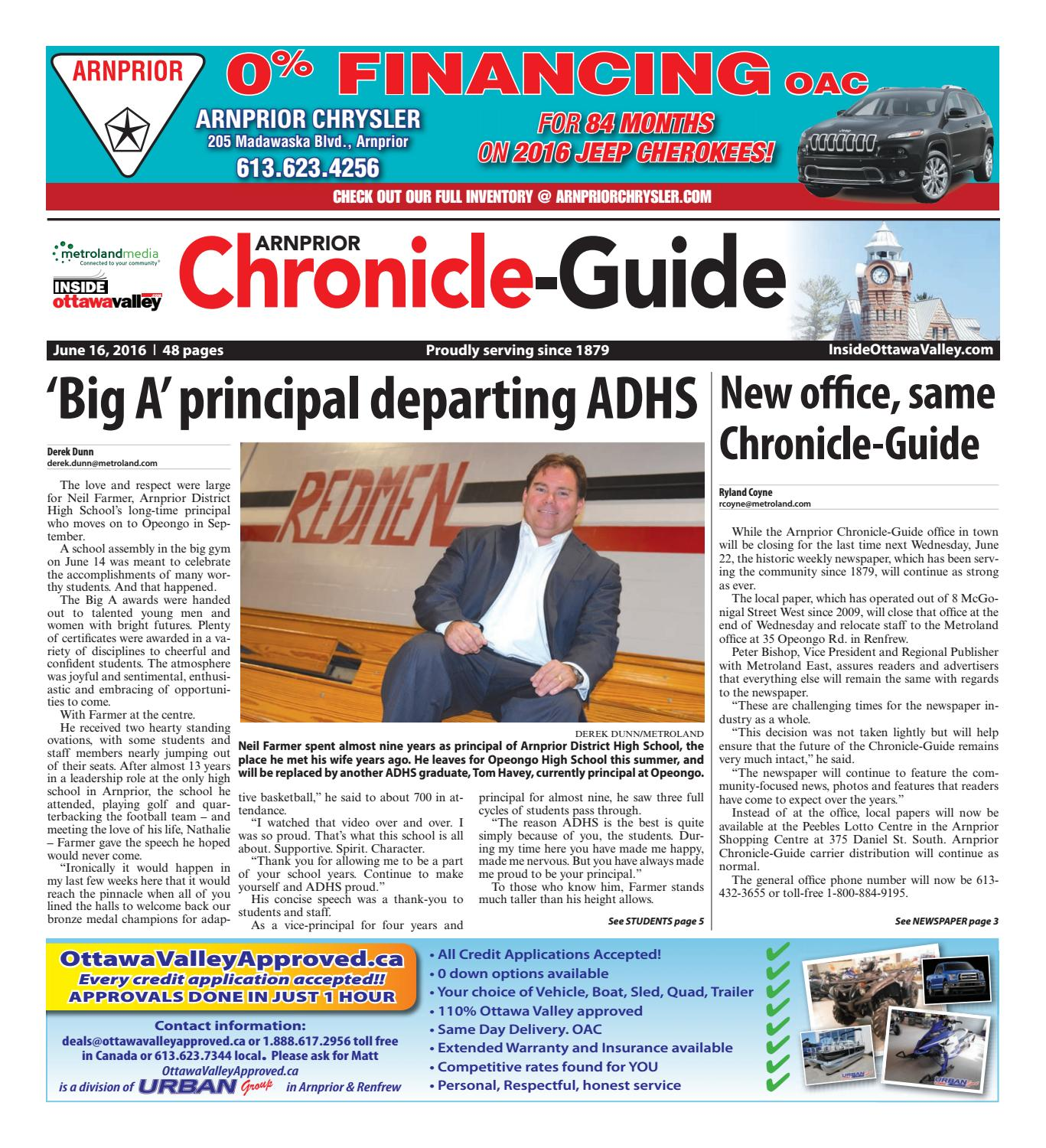 866e1f1aa4 Arnprior061616 by Metroland East - Arnprior Chronicle-Guide - issuu