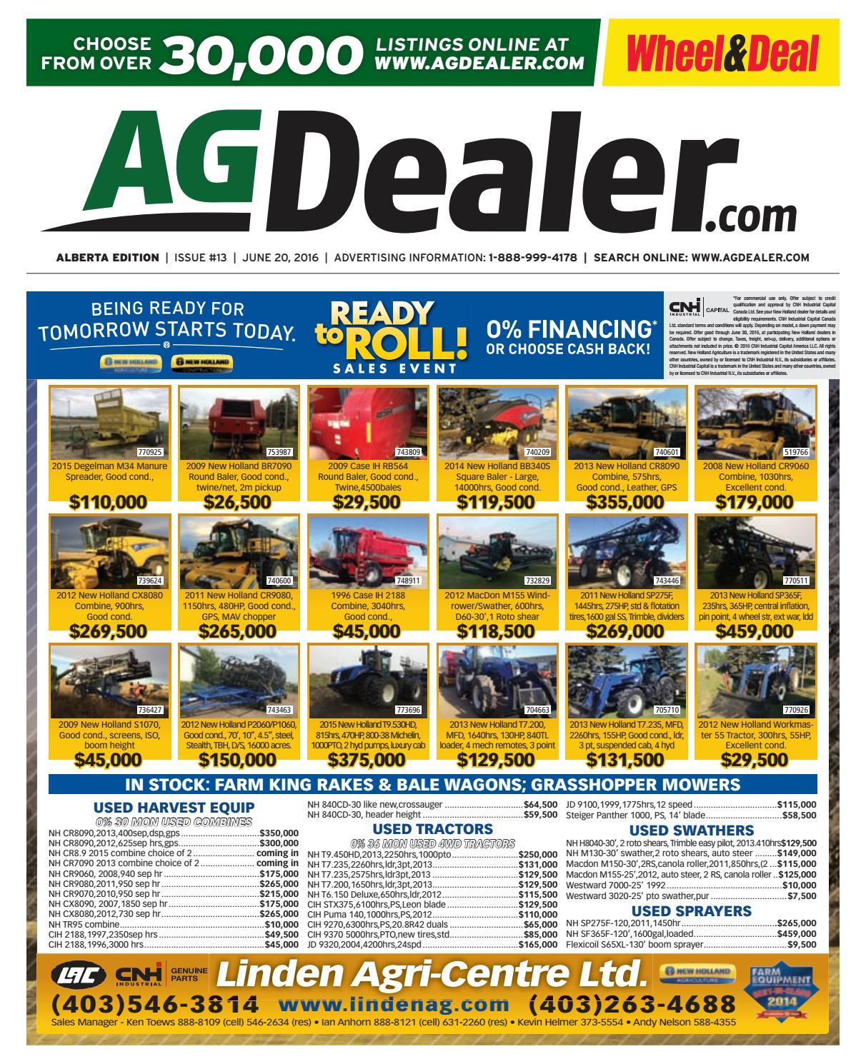 Wheel & Deal Alberta, June 20, 2016 by Farm Business Communications -  issuu