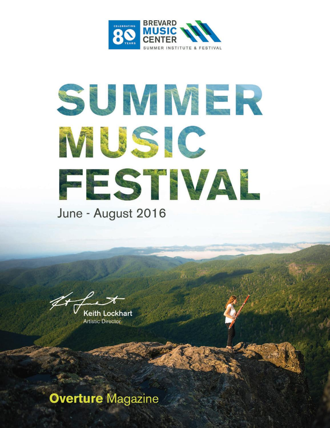 76ddbcd6c8 2016 Brevard Music Center Overture Magazine by Brevard Music Center - issuu