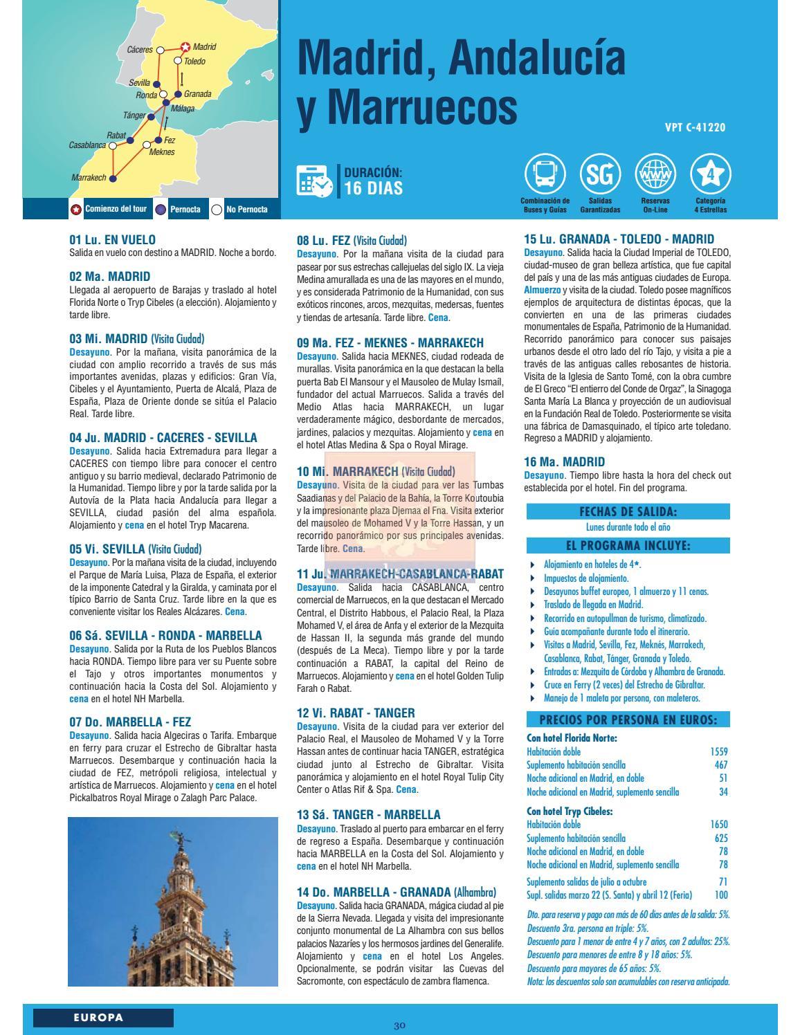 Catálogo Visit Now Europa 2016 2017 By Sunembassy Com Issuu