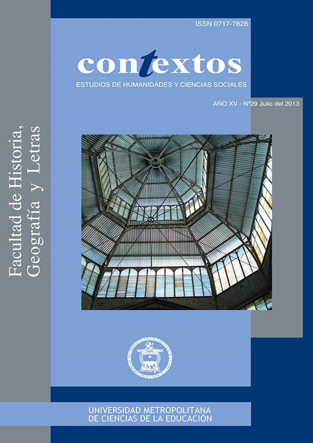revista contextos n250mero 29 by umce issuu