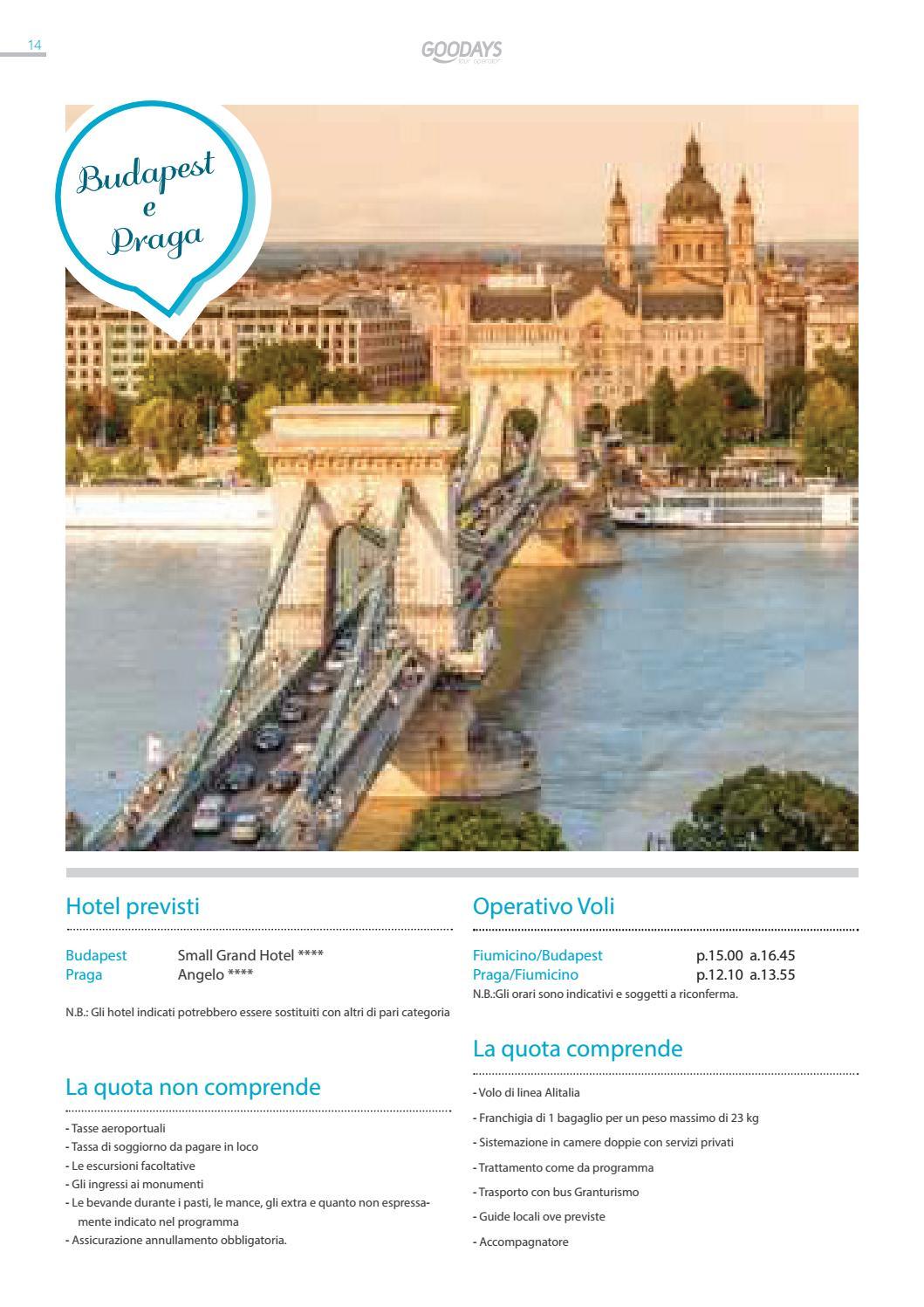 Catalogo Tour Europa 2016 by Goodays - issuu