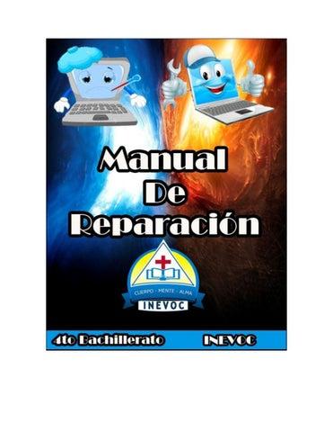 manual de reparacion y mantenimiento de computadoras by emerson sop rh issuu com manual de mantenimiento de computadoras en pdf manual de mantenimiento de computadoras en word