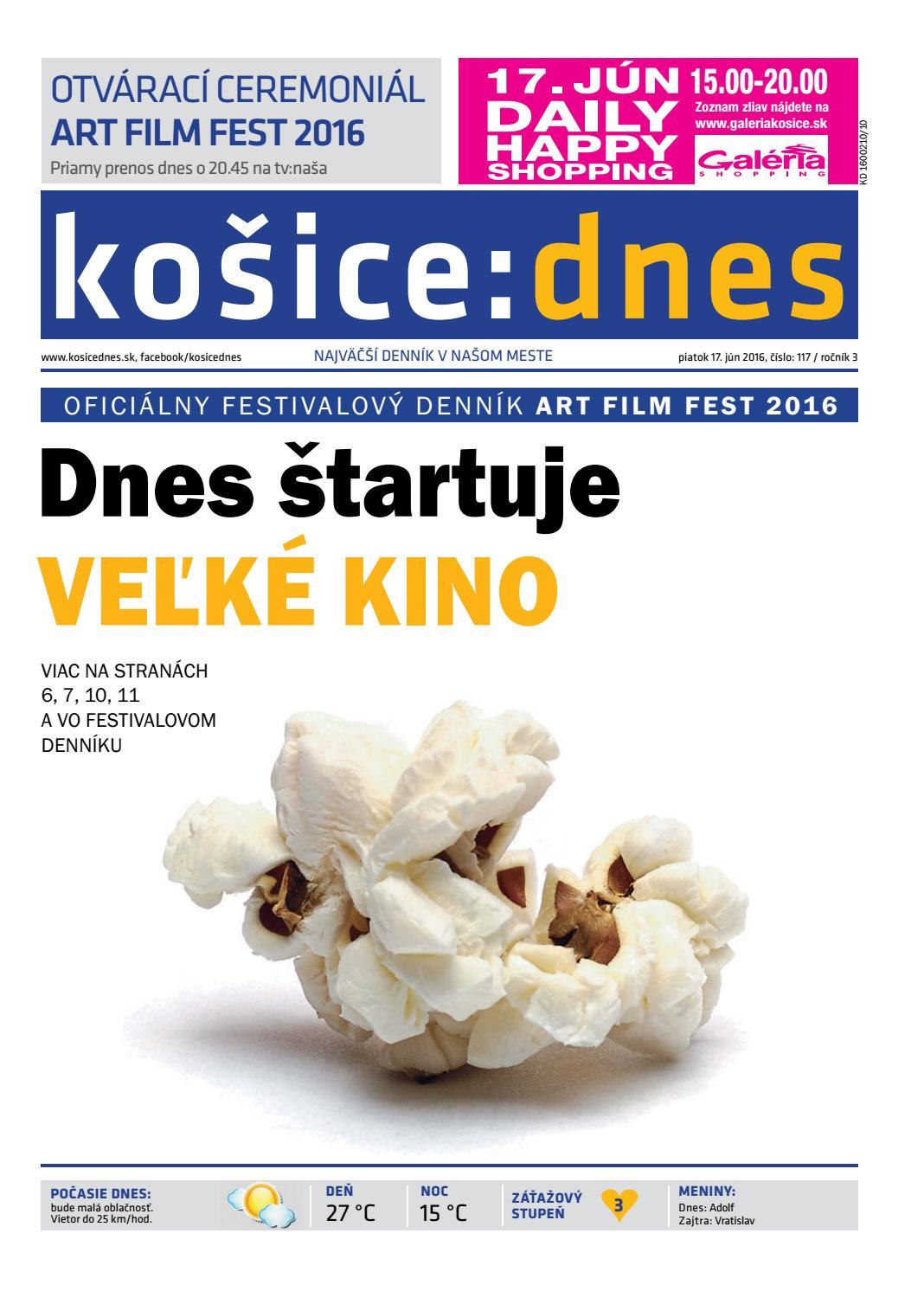 košice dnes 17.6.2016 by KOŠICE DNES - issuu 330feabf06a