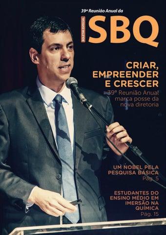 21a507d87ce66 Boletim Especial 39ª Reunião Anual da SBQ by Editora Cubo - issuu
