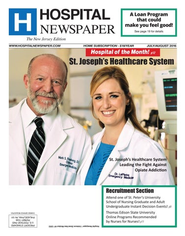 Hospital Newspaper New Jersey 2016 Ebook By Belsito