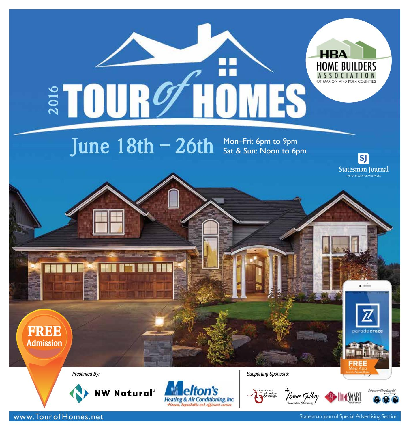 2016 tour of homes marion and polk counties oregon by statesman