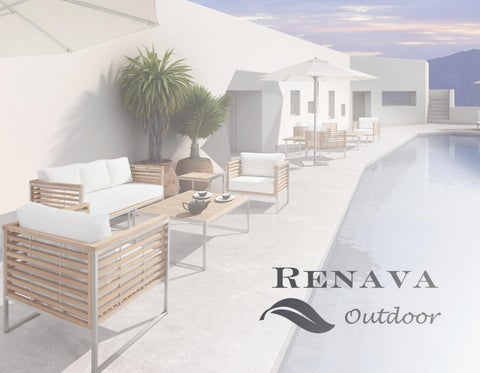 Renava Outdoor Furniture Catalog 2016 By VIG Furniture INC.   Issuu