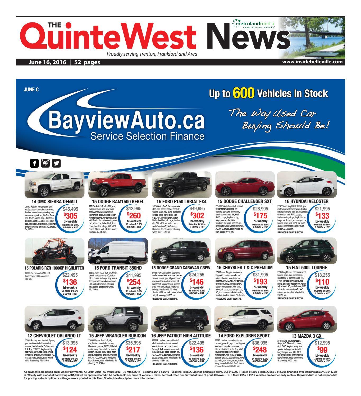 b3898ecb5 Quinte061616 by Metroland East - Quinte West News - issuu