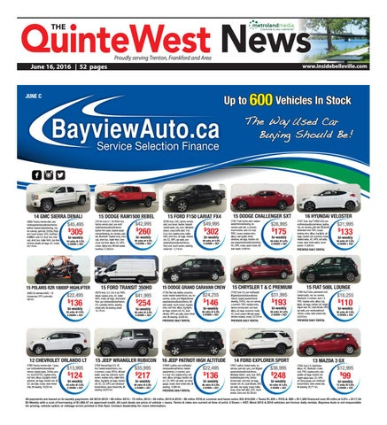 65a2314f6d5 Quinte061616 by Metroland East - Quinte West News - issuu