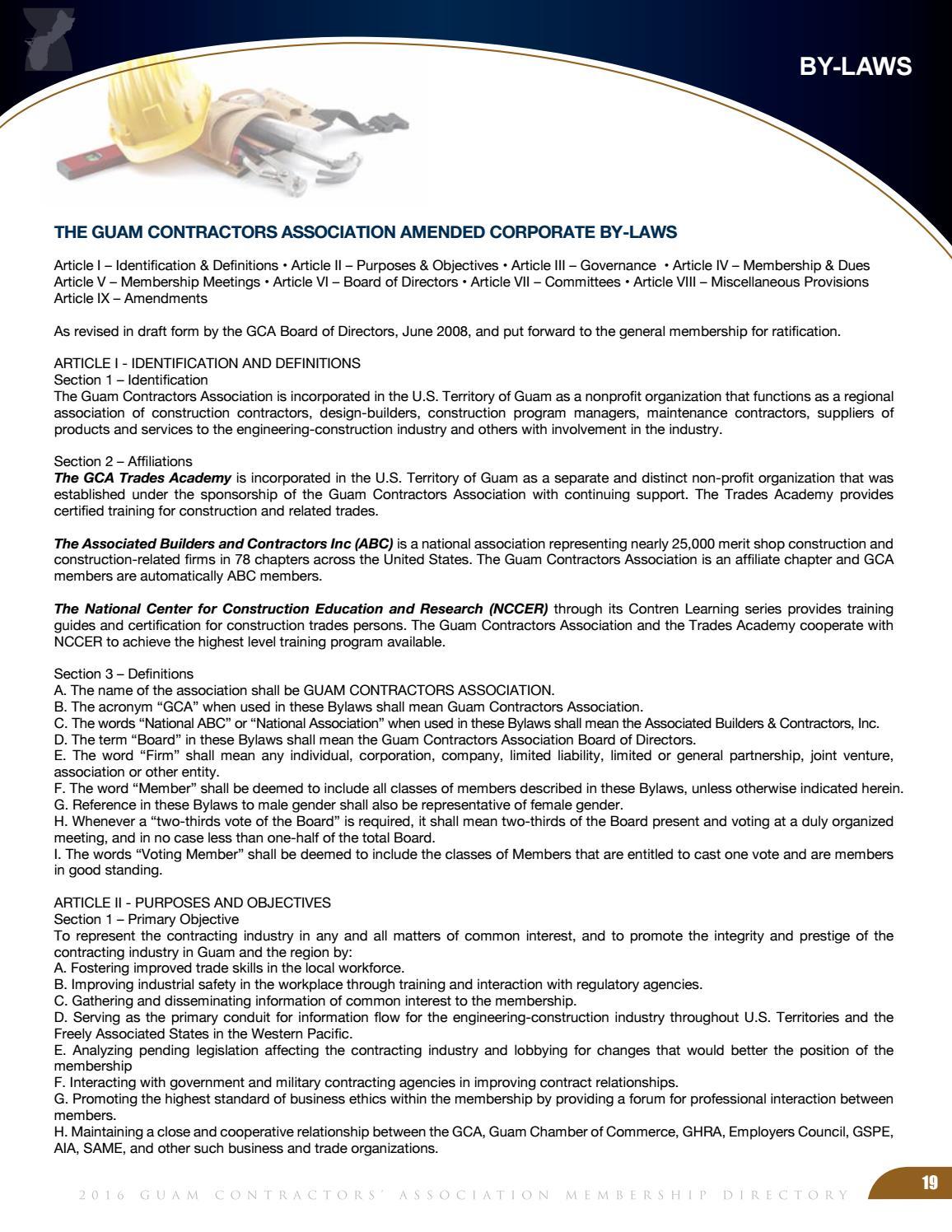 2016 GCA Membership Directory by Geri Leon Guerrero - issuu