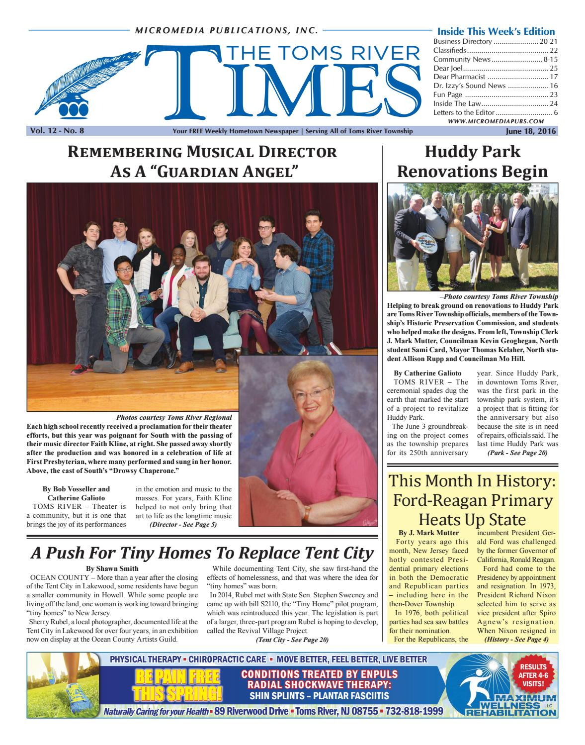 2016-06-18 - The Toms River Times by Micromedia Publications