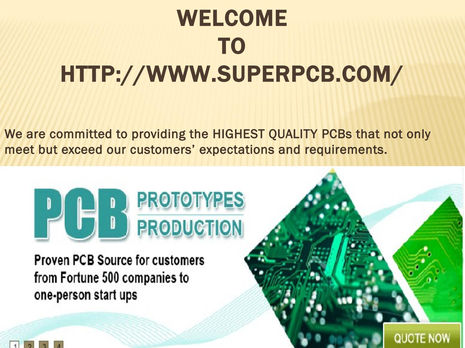 Printed Circuit Boards Pcb Fabrication By Superpcb Issuu Board Manufacturer Buried Blind Via For Sale
