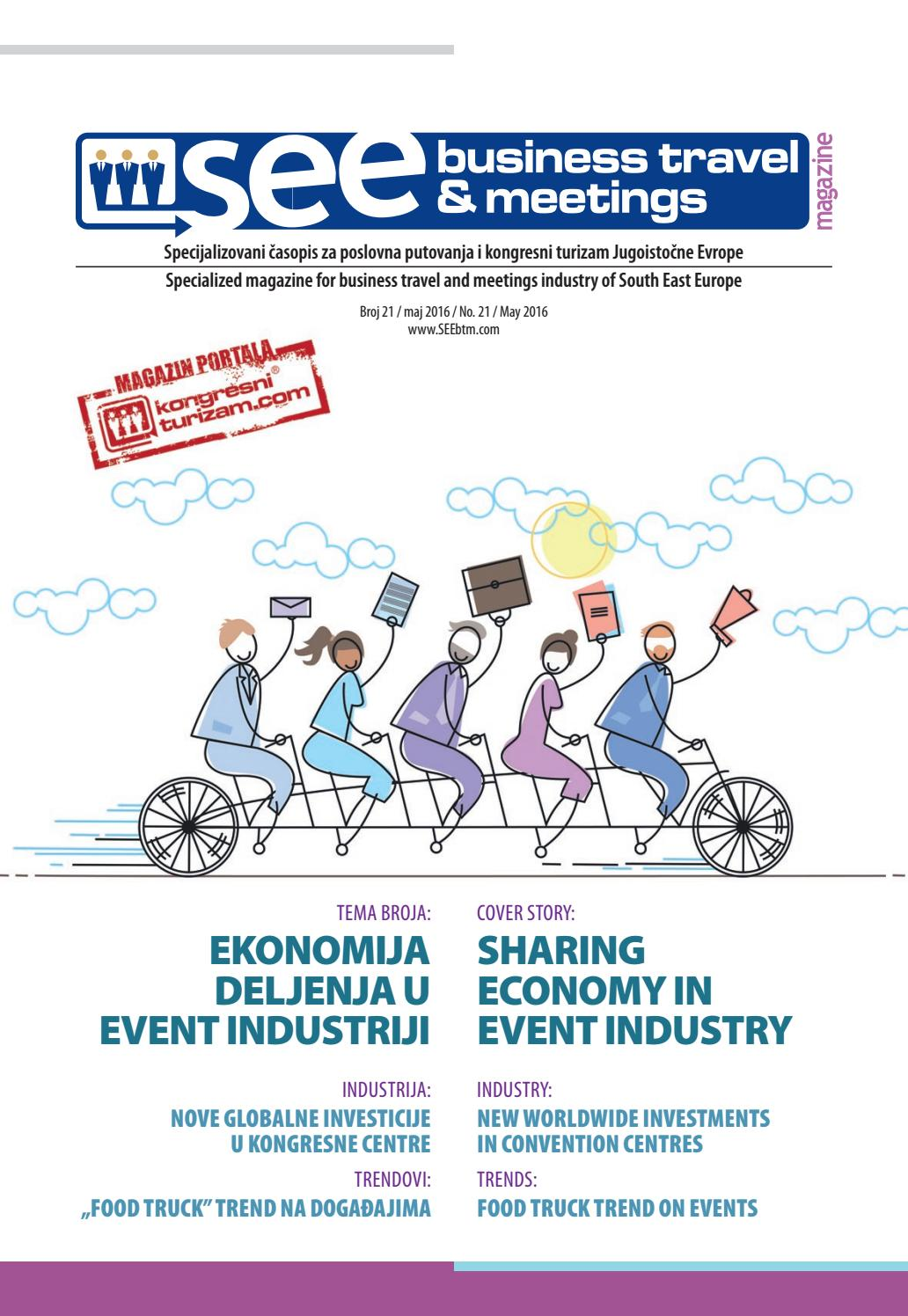 Sharing Economy In Event Industry Seebtm Magazine No 21 By Miona