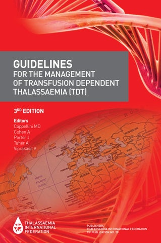 Guidelines for the Management of TDTs (3rd ed )- English by