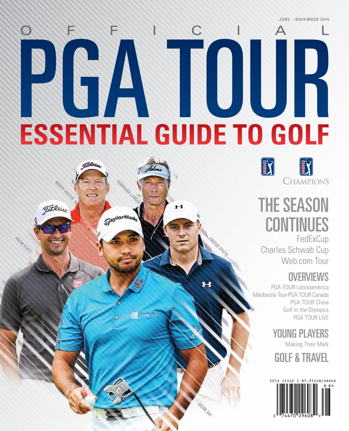 pga tour essential guide to golf 2016 part 2 by magazine