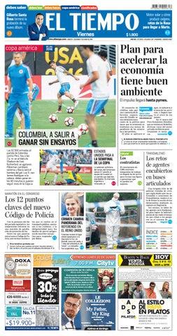 EL TIEMPO 06-17-2016 by Andres A. - issuu 3cda85fa5a98a