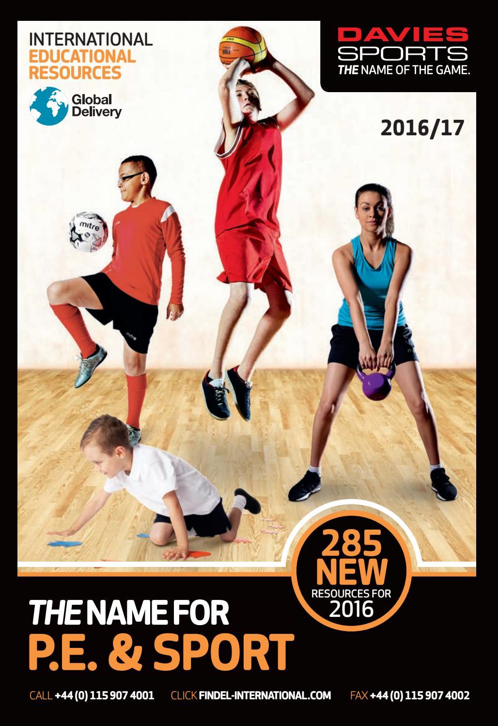 Davies Sports International Catalogue 2016 17 By Findel Ltd Issuu Asian Games 2018 Ball Bhin 13cm